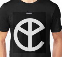 Music Black Peace Out Logo Unisex T-Shirt