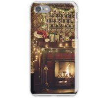 Sherlock Christmas at 221b  iPhone Case/Skin