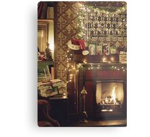 Sherlock Christmas at 221b  Metal Print