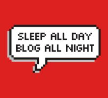 Sleep All Day Blog All Night  Kids Clothes