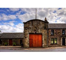 Strathaven Town Mill Photographic Print