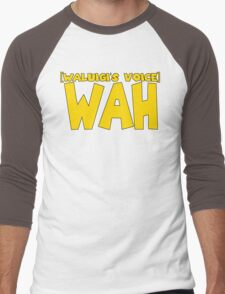 Wah (Waluigi's Voice) Men's Baseball ¾ T-Shirt