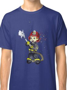 Fireman Boy Classic T-Shirt