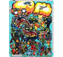 Pizza, Robots, and a crazy bunch of other stuff... iPad Case/Skin