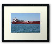Canada Steamship Lines Framed Print