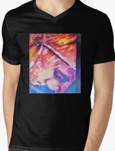 Mirror view Mens V-Neck T-Shirt