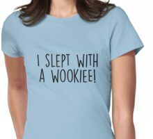 Gilmore Girls - I slept with a wookiee Womens Fitted T-Shirt