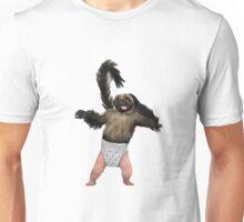 Puppy Monkey Baby Unisex T-Shirt