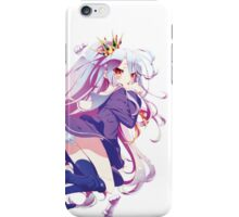 Anime: NO GAME NO LIFE - Shiro iPhone Case/Skin