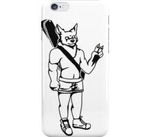 Folk Werewolf iPhone Case/Skin