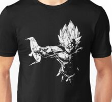 Vegeta Hardcore Squat - Leg Day Motivation Unisex T-Shirt