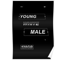 Young White Male Poster