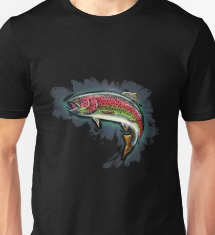 Procreate Rainbow Trout Unisex T-Shirt