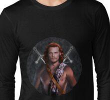 An Outlander warrior Long Sleeve T-Shirt