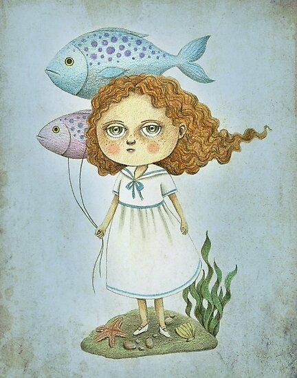 Fish Balloons by Amalia K