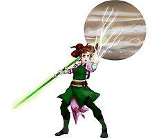 Jedi Sentinel Sailor Jupiter by LadyValiant