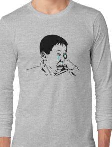 programmer cartoon artist computer design Long Sleeve T-Shirt