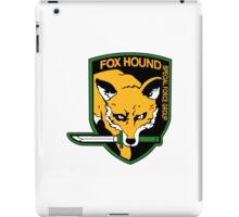 Metal Gear Solid - Foxhound Logo iPad Case/Skin