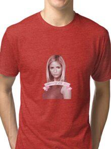 BUFFY OR DIE Tri-blend T-Shirt