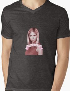 BUFFY OR DIE Mens V-Neck T-Shirt