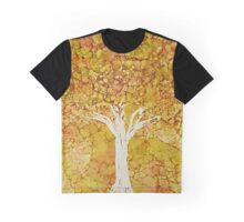 Autumn Foliage Graphic T-Shirt