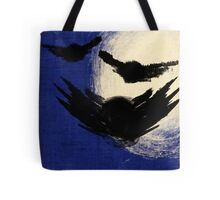 Owls and The Moon Tote Bag
