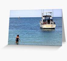 Paradise Island Greeting Card
