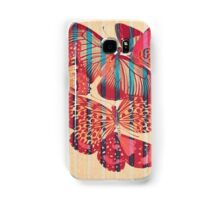 Butterflies in Strips Coque et skin Samsung Galaxy