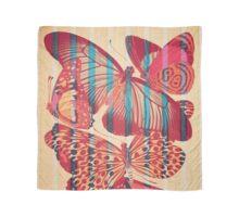 Butterflies in Strips Foulard