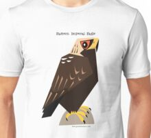 Eastern Imperial Eagle caricature Unisex T-Shirt
