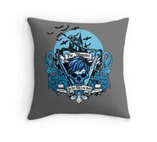 Die Monster! Throw Pillow