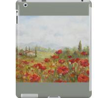 Poppies by Chris Brandley iPad Case/Skin