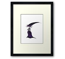 Masquerade Queen Framed Print