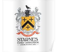 Starnes Coat of Arms Poster