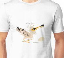 Egyptian Vulture caricature Unisex T-Shirt