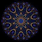 Blue Jewel Kaleidoscope by fantasytripp