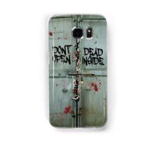 The walking dead - dead inside - zombie Samsung Galaxy Case/Skin
