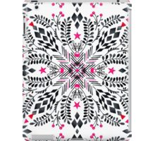 Winter Graphic Folk Art Pattern iPad Case/Skin