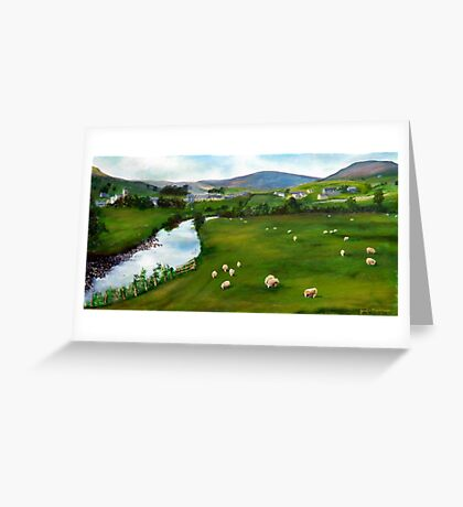 River Ure , Yorkshire dales Greeting Card