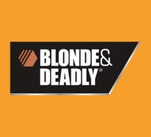 Blonde & Deadly by LetThemEatArt