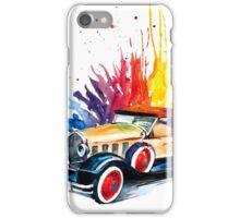 Retro car iPhone Case/Skin