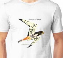 Eurasian Hobby caricature Unisex T-Shirt