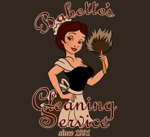 Babette's Cleaning Service Womens Fitted T-Shirt