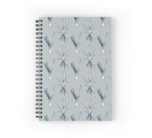 Scandinavian style roots botanical illustration Spiral Notebook