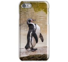 Laughing Penguin #2 iPhone Case/Skin