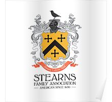 Stearns Coat of Arms Poster