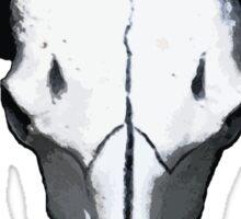 Buffalo skull 3 Sticker