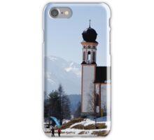 Seekirchl church in Seefeld in Tirol, Austria iPhone Case/Skin
