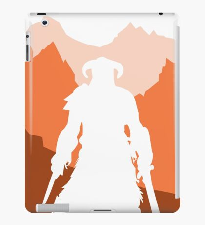 Dragonborn - Orange iPad Case/Skin