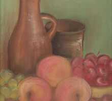 PEACHES, CHERRIES and some GRAPES by OlaG
